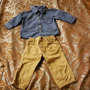 Little Rebels 2 piece outfit, 12 months